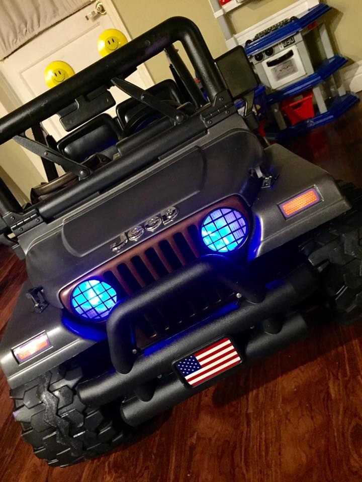 Beep, Beep Mommy!: How I turned an old Barbie Power Wheels Jeep from dirty curb-side disaster, into a custom ride that any boy would be proud to drive.