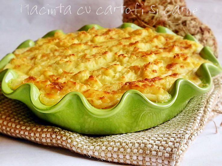 Reteta Placinta cu cartofi si carne - Vita