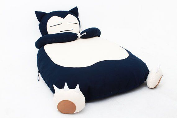 You Can Now Own a Snorlax Bed