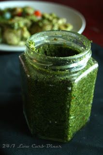 Kale Pesto--great while we wait for summer herb gardens