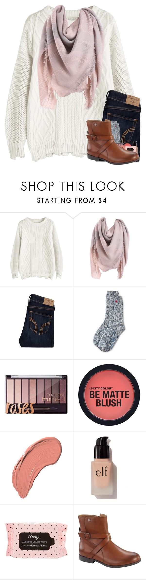 """""""ummmmm this set sucks"""" by arielforlife ❤ liked on Polyvore featuring Hollister Co., Lands' End, NYX, e.l.f., Birkenstock, men's fashion and menswear"""