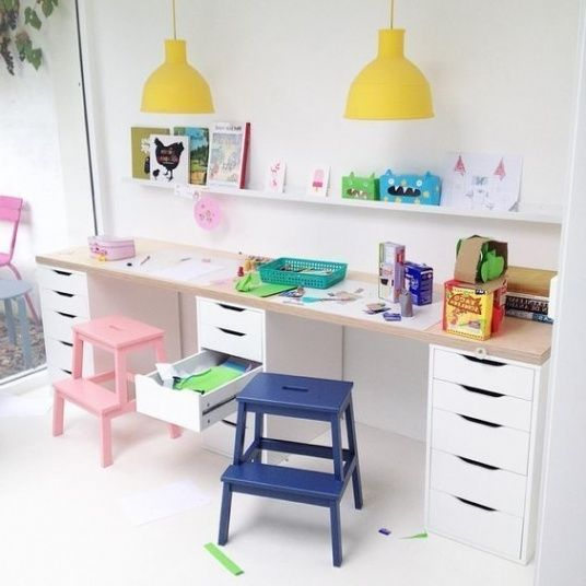 Best 25  Kid Desk Ideas On Pinterest | Kids Desk Areas, Kids With Regard To Modern House Kids Work Desk Ideas