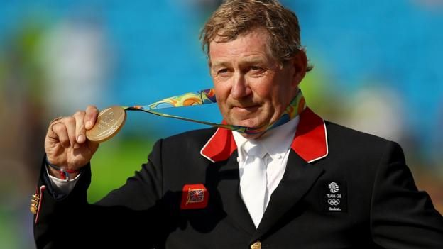 Nick Skelton, 58, becomes the second oldest British Olympic champion with…