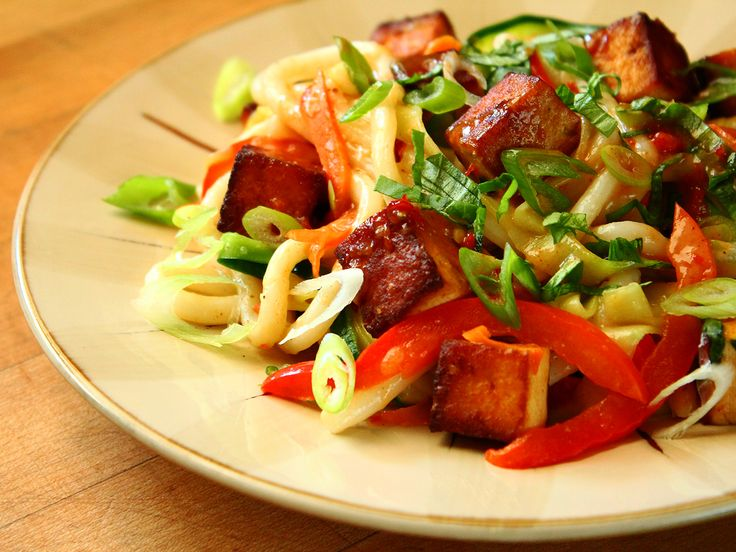 ... red bell pepper, carrot, basil, and green onion) with spicy peanut