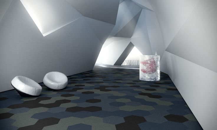 Textilplatta Fletco Sebastian Wrong - unik golvdesign