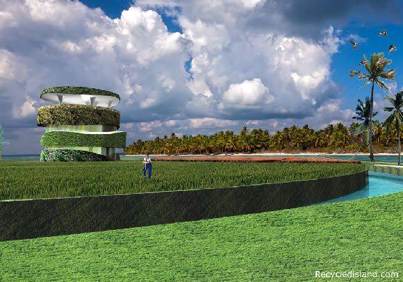 Prototype Recycled Island
