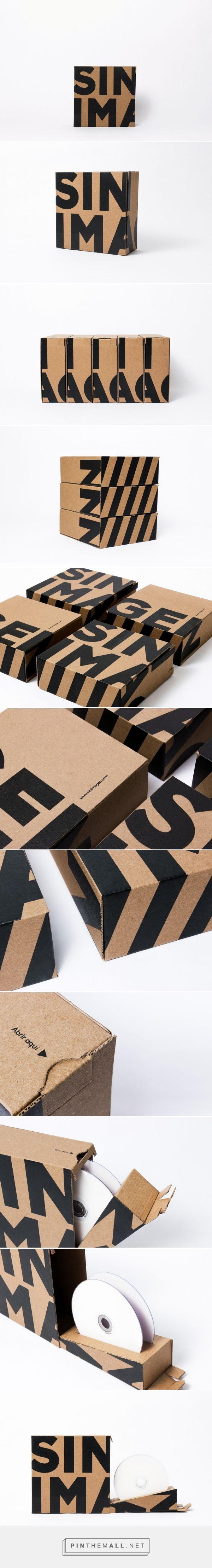 Sin Imagen #CD #Box designed by Ochodías (#Venezuela) - http://www.packagingoftheworld.com/2016/03/sin-imagen-cd-box-concept.html