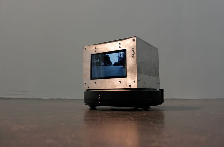 Yang Guangnan, Action No.3, 2014, vacuum cleaner, screen, video, aluminium, 33 x 33 x 28 cm. Courtesy Leo Xu Projects (at Ullens Center for Contemporary Art)