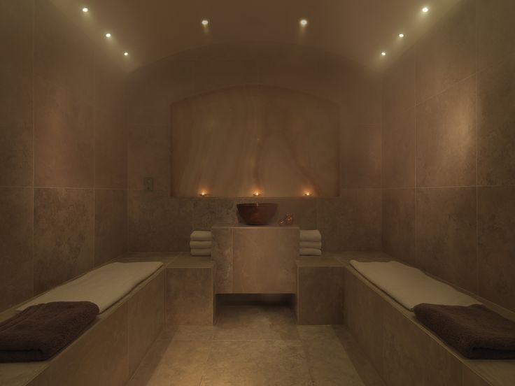The Salt Infused Steam Room — Spa SW1, Spa in Dolphin Square