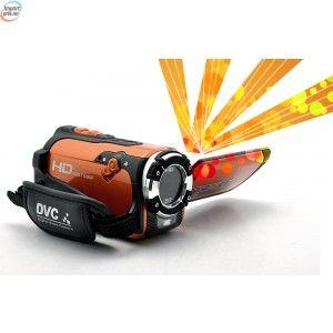 C-Shock Ultra Rugged HD Sport videokamera (1080p, vanntett, Makro funksjon, støtsikker) - DEMOMODELL