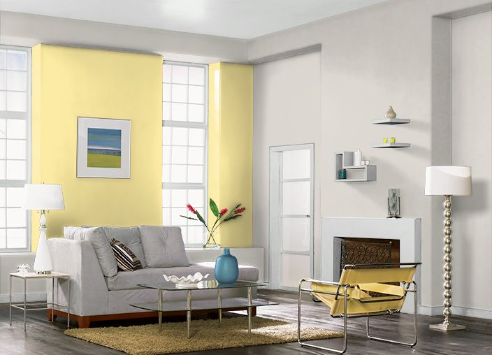 This Is The Project I Created On Behr Com I Used These Colors Rise And Shine P300 4 Silver