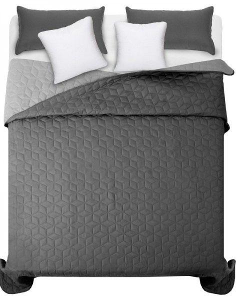 Obojstranne prehozy na manzelsku postel sivej farby (3)
