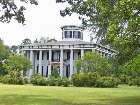 Grey columns plantation tuskegee alabama for Plantation columns