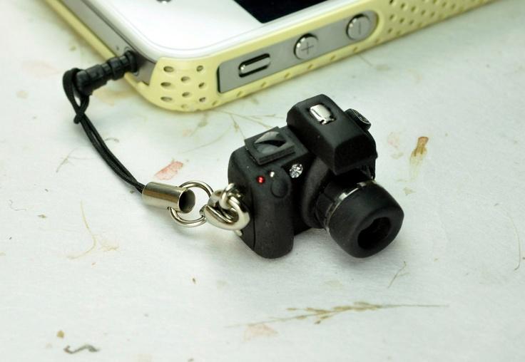 Canon 30D DSLR Camera miniature Earphone Jack. $12.00, via Etsy.
