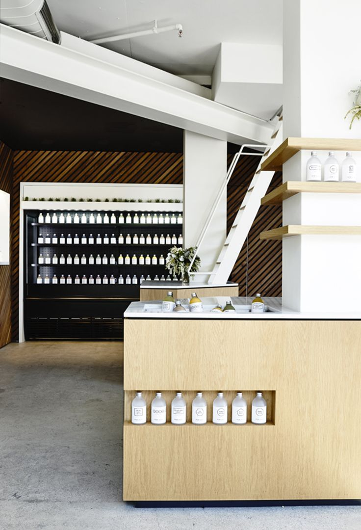 Melbourne Based Architect And Interior Designer Travis Walton Was Commissioned By The Latest Juice Company To Hit Scene Greene Street