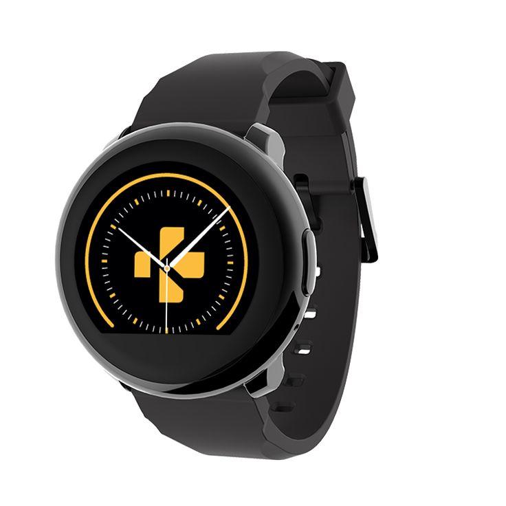 ZeRound - Smartwatch with circular touchscreen - MyKronoz