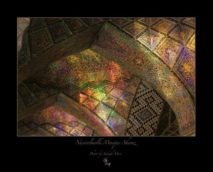 Sadegh Miri:     Nasirolmolk Mosque-Shirz, Iran