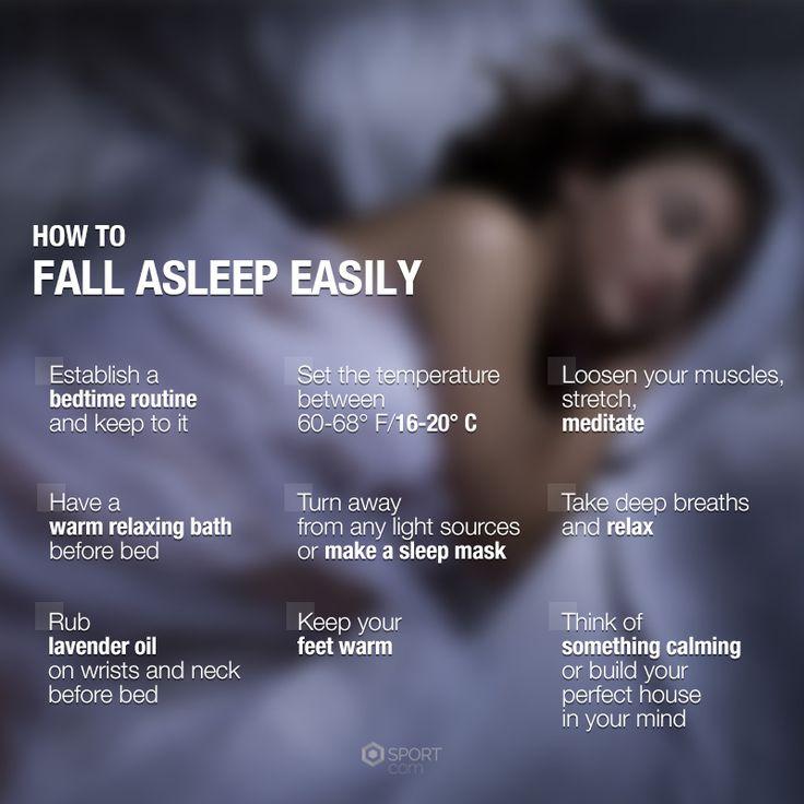 How to fall asleep easily! #sleep #insomnia #fallasleep