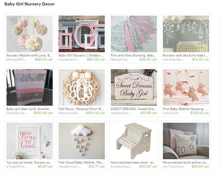 16 Must Have Pink And Grey Nursery Decor Items For Your Baby