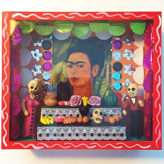 Frida Kahlo Shrine from Tulum in Mexico