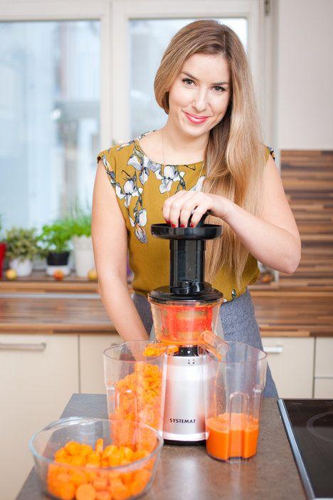 Bářin dort je geniální způsob, jak využít zbytky mrkve z odšťavňovače; Greta Blumajerová