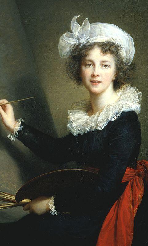 Elisabeth Louise Vigée Le Brun (French, 1755–1842). Self-portrait, 1790. Oil on canvas