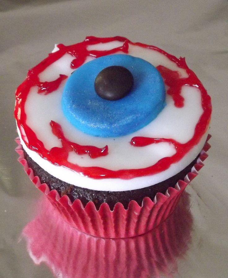 Eye of C'thulu cupcake