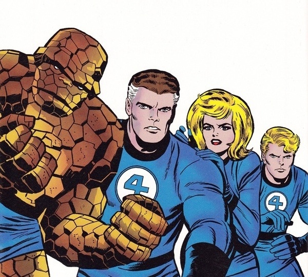 Fantastic 4 Cartoon Characters : Best images about fantastic four era the silver