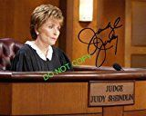 #7: Judge Judy Sheindlin reprint gorgeous signed photo #1 RP