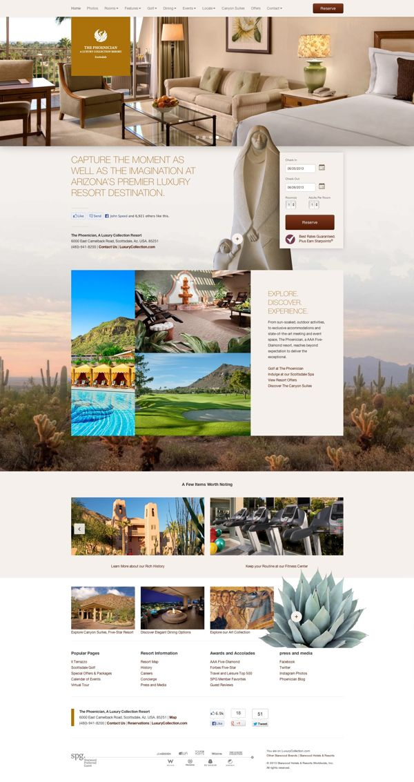 The Phoenician, A Luxury Collection Resort on Behance