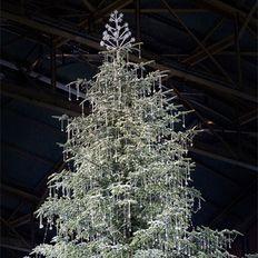 Swarovski christmas tree in Zurich Switzerland - love it