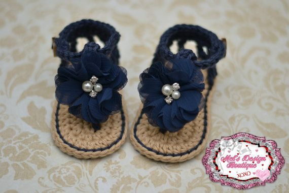 Sandalias de bebé zapatos de bebé sandalias por MelsDesignBoutique