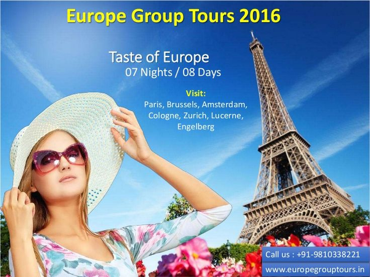 #BudgetEuropeTours  #EuropeGroupTours2016  #EuropeHolidayPackages Europe Group Tours offers Budget Group Tour Packages for Europe 2016 from Delhi India. Get best deals and offers on group and personalized booking.