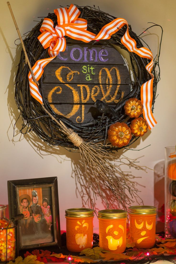 233 best halloween crafts ideas images on pinterest for Home depot halloween decorations