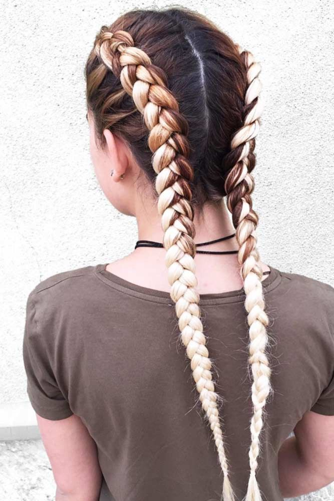 24 Cute Double Dutch Braids Ideas
