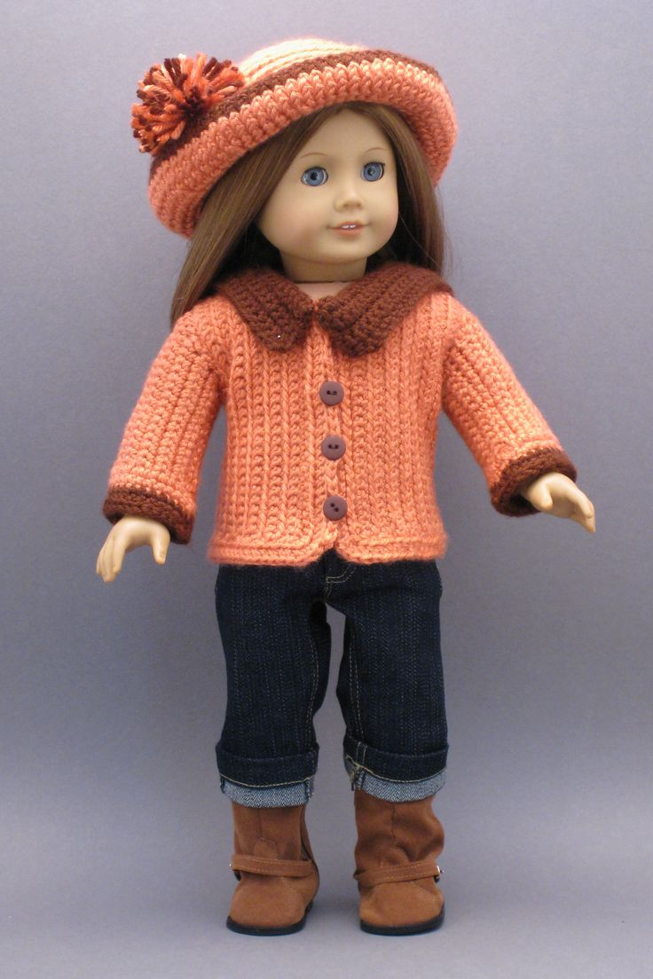 Knit Pattern Books For 18 Inch Doll Clothes : 91 best American Girl Doll Clothes: 18-Inch Doll Clothes ...