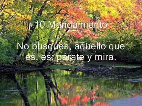 OSHO Los 10 Mandamientos (en español) - YouTube