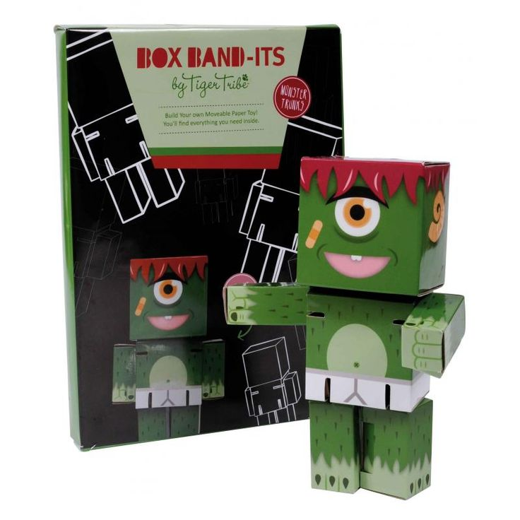 Box Band-it Monster Marv - Tiger Tribe for sale by Little Shop of Treasures. Other Tiger Tribe available now at LSOT.