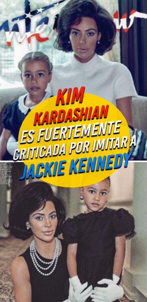 Kim Kardashian es fuertemente criticada por imitar a Jackie Kennedy