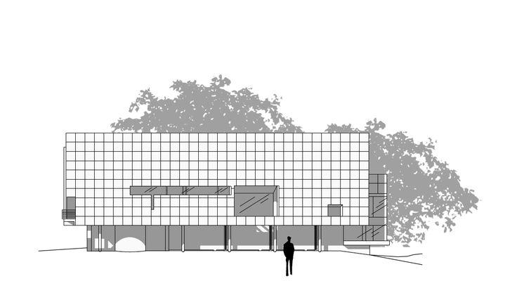 Richard Meier on autocad  ARCHITECTURE ARCHITETTURA