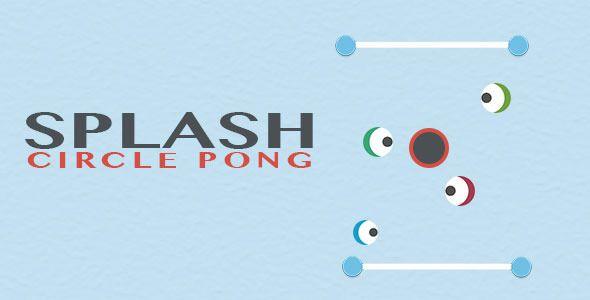 Splash - Circle Pong iOS Game . Splash has features such as Software Version: iOS 7.0.x, iOS 8.0.x