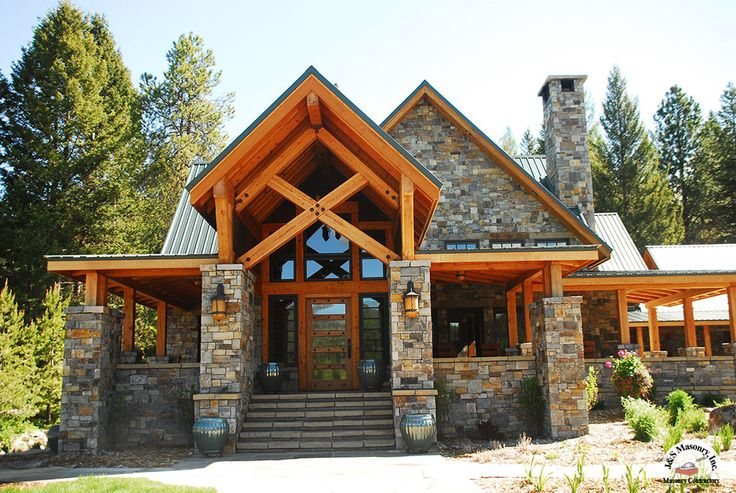 Nestled in the mountains of northwestern montana this for Western home plans