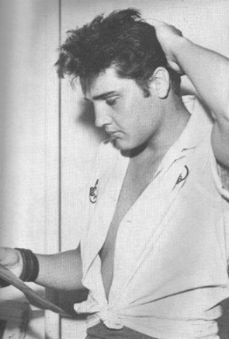 Elvis- ok- i have to admit this pic is kinda hot.