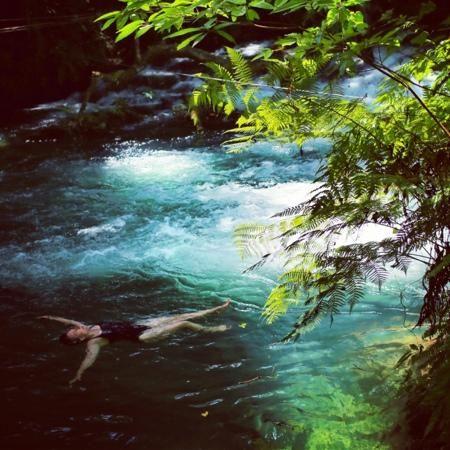 Eden on the River: Port Vila Vanuatu - Swim in the river or zip line and bridge walk.