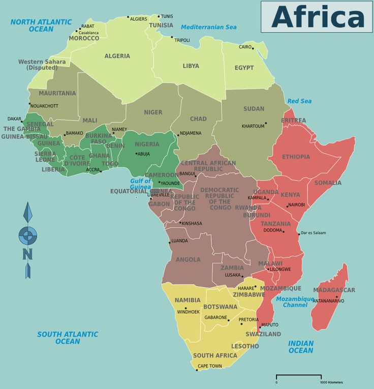 14 best Africa images on Pinterest | Africa map, Countries and Maps