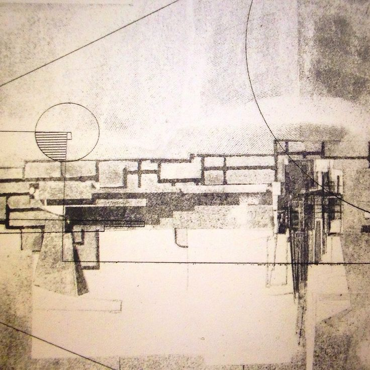 Nadia Benedicte Architecture Mono Type Fine Art Printmaking shortcourse @ Central St Martins