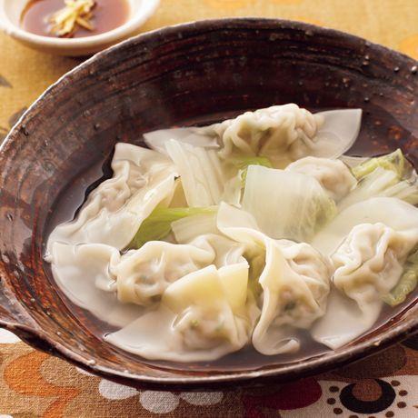 白菜たっぷり水餃子   伊藤朗子さんの餃子の料理レシピ   プロの簡単料理レシピはレタスクラブニュース
