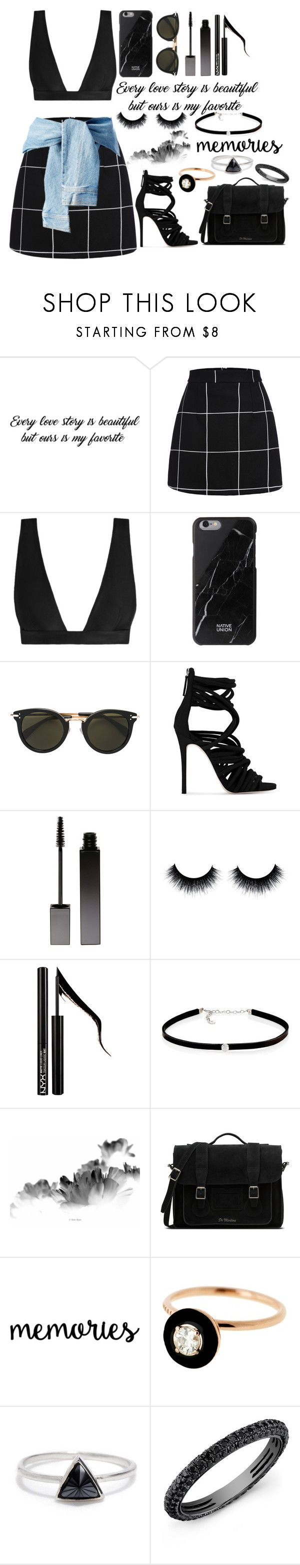 """""""Ours Is My Favorite"""" by selenaisunshine ❤ liked on Polyvore featuring Zimmermann, Native Union, CÉLINE, Giuseppe Zanotti, Serge Lutens, Forever 21, Carbon & Hyde, Dr. Martens, Selim Mouzannar and Bing Bang"""