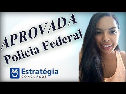 Raquel dos Santos foi aprovada no Concurso da Policia Federal! #estudos #concursos #alunos #estrategia