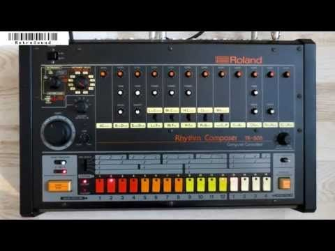 Roland TR-808 - Famous Drum Beats - YouTube